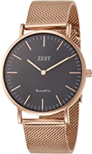 [ゼスト] 腕時計 JD-2708-001-BK-RG-M 正規輸入品 ブラック