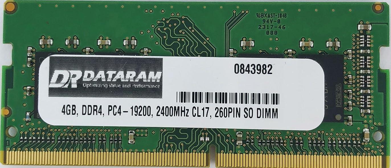 手がかり恋人機械HP ProBook 430 G3用4GB DDR4 2400MHz SO DIMM