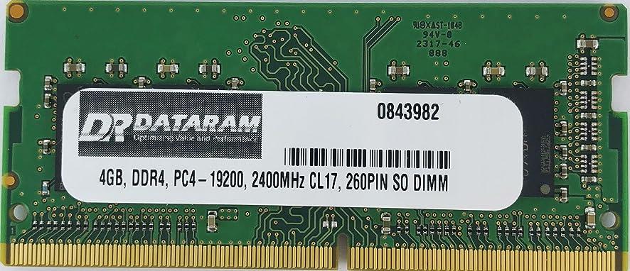 遺体安置所上げる時間厳守4GB DDR4 2400MHz SO DIMM Dell Alienware Alpha R2用