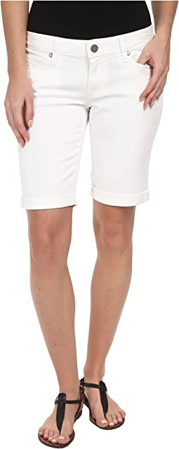 Paige - Jax Knee Short in Optic White