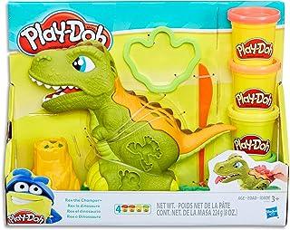 Play-Doh - Chompasaurus Rex Playset - inc 4 Tubs of Dough & Acc - Creative Kids Toys - Ages 3+