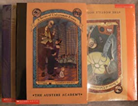 Series of Unfortunate Events Set 1-8 (The Bad Beginning, The Reptile Room, The Wide Window, The Miserable Mill, The Auster...