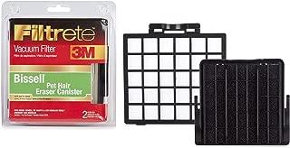 3M Filtrete Bissell OptiClean & Pet Hair Eraser Canister High Efficiency Allergen Vacuum Filter