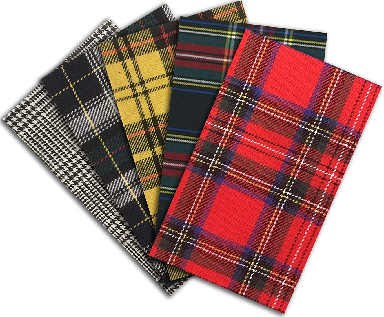 Iron-on Clothing Patches - PLAID
