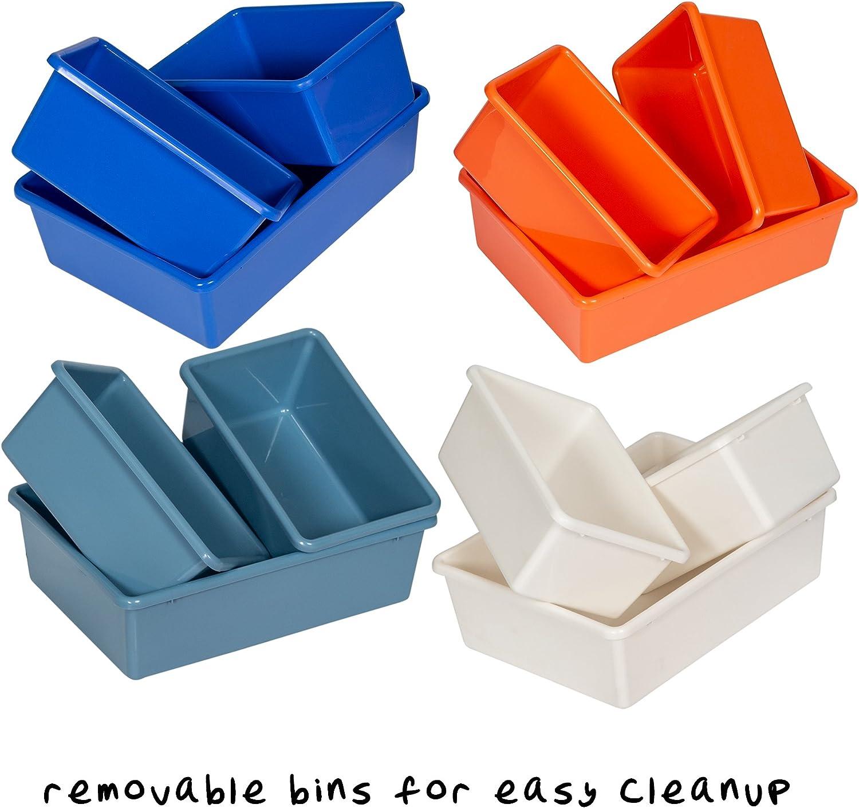 1 Pack Honey-Can-Do SRT-06475 Kids Toy Organizer and Storage Bins Gray Gray