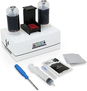 INKUTEN Black Ink Refill Kit For Canon PG-240XL PIXMA MG3520 MG3620 MG2220 MG3220 MG3522 MG3222 MG2120 MG4120 MX472 MX452 MX522 MX532 MX392 MX432 MX512