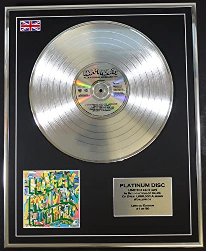 HAPPY MONDAYS EDITION LIMITEE CADRE CD DISQUE DE PLATINE PILLS N THRILLS AND BELLYACHES