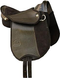 ea8ada52c1 Caballo de montar caballo de silla de montar con asa, colour negro y  también para