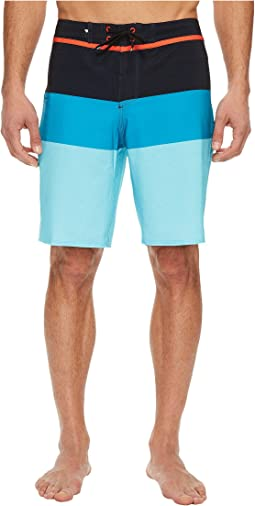 "Everyday Blocked Vee 20"" Boardshorts"