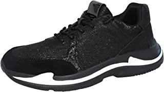 ROXY ROSE Womens Casual Athletic Sneaker Lightweight Glitter Sports Walking Shoes Trainers for Outdoor