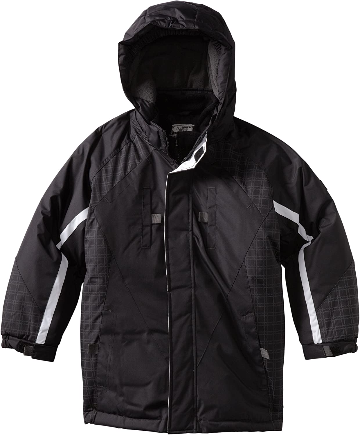 Rothschild Big Boys' Jacket with Plaid Insert And Vestee