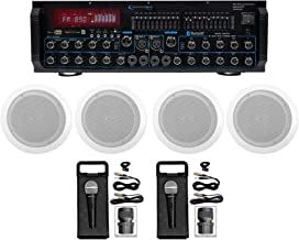 Technical Pro MM2000BT Bluetooth Karaoke Mixer System+(4) 6.5