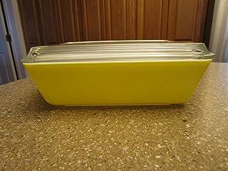 Vintage Pyrex 503 1 1/2 Quart Yellow Fridgie Refrigerator Dish