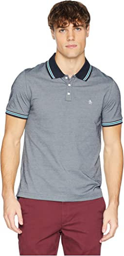 Short Sleeve Mercerized Pique Polo