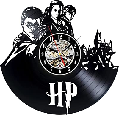 Decorate your home with Modern Art Win a prize for a feedback Harry Potter Hermione Vinyl Record Wall Clock girls and boys Gift for adults