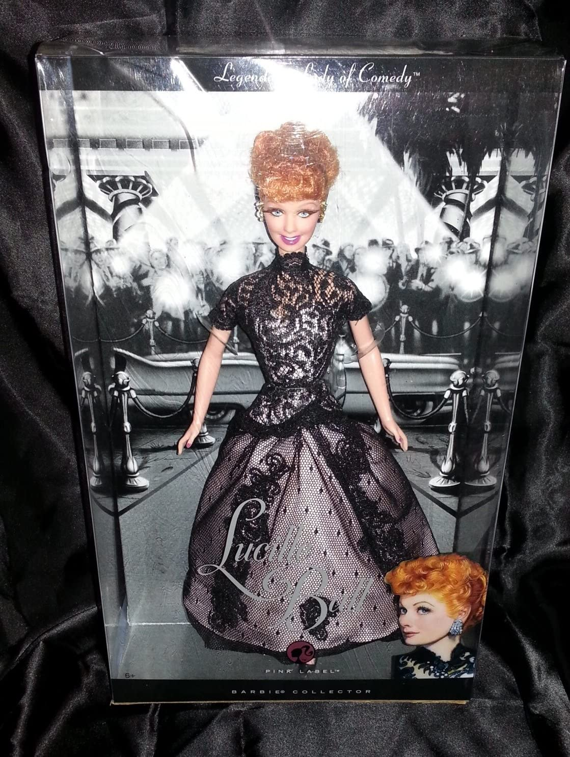 Mattel 2008 Lucille Ball Legendary Las Vegas Mall Lady Comedy Mail order cheap in Doll Black of