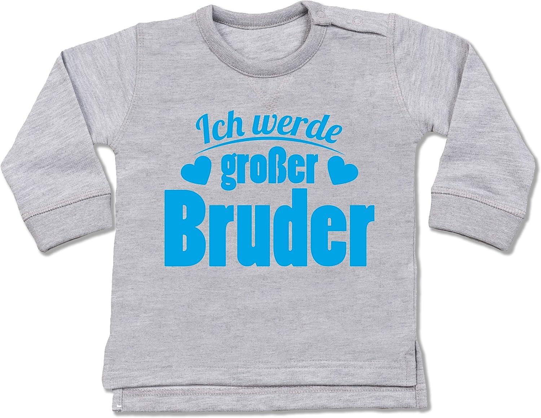 Einzelkind gro/ße Schwester mit Eulen Kurzarm Baby-Shirt f/ür Jungen und M/ädchen Geschwisterliebe Baby Shirtracer
