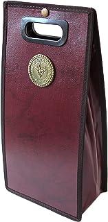 【SCGEHA】ワインバッグ ワインケース 1本用 2本用 オシャレ ハイセンス パーティー クリスマス バレンタイン お正月 大切な日 大切な人へ♪ (ワインレッド/2本)