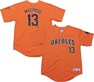 Outerstuff Manny Machado Baltimore Orioles #13 Orange Toddler Player Fashion Jersey