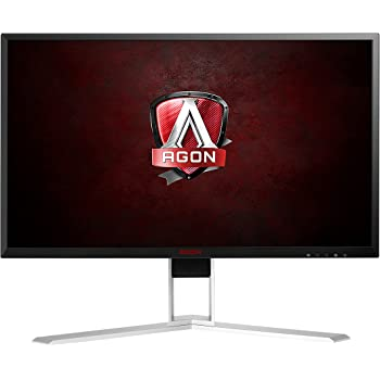 "AOC AGON Gaming Monitor 24"" (AG241QX), QHD 1440P, G-Sync Compatible + Adaptive-Sync, 144Hz, 1ms, Quickswitch Keypad, Vesa"