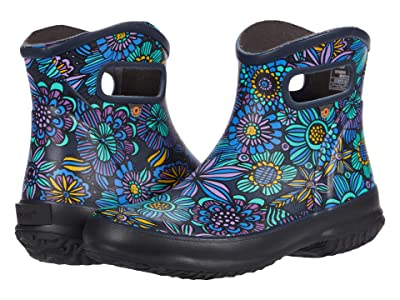 Bogs Patch Ankle Boot Bright Garden (Navy Multi) Women