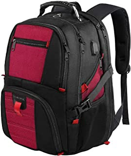 Extra Large Backpack,Computer Backpack for Laptops with USB Charging Port,Heavy Duty Business Travel Backpack for Men Wome...