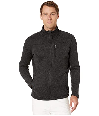 Smartwool Hudson Trail Fleece Full Zip Jacket (Dark Charcoal) Men