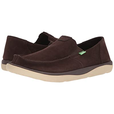 Sanuk Vagabond Tripper Suede (Dark Brown) Men