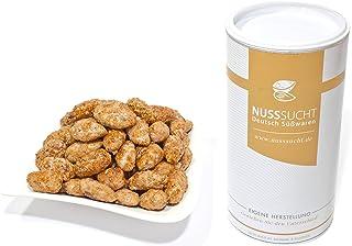 Gesuikerde Amandelen | Gebrande Amandelen | Kaneel & Cacao | Gebrannte Mandeln | 500g
