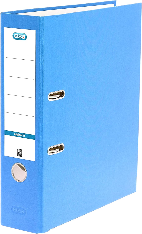 trust Elba A4 80 2021 mm Board - Arch File Lever Blue
