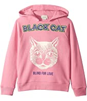 Gucci Kids - Black Cat Hoodie (Little Kids/Big Kids)