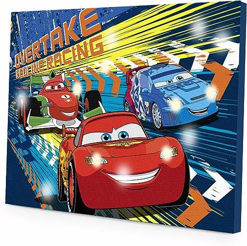 Para tu estilo de juego a los precios más baratos. Disney Cars 2 LED Canvas Wall Wall Wall Art, 15.75-Inch x 11.5-Inch by Disney  mejor precio