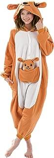 Adult Kangaroo Animal Onesie Costume Pajamas for Adults and Teens