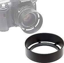 Fotasy Metal 58mm Vented Lens Hood, 58mm Metal Hood, 58mm Lens Hood for Fuji Leica Leitz Panasonic Olympus Panasonic Sony Lens, 58mm Screw-in Lens Hood