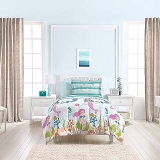 dream FACTORY Kids 5-Piece Complete Set Easy-Wash Super Soft Microfiber Comforter..