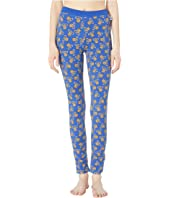 Moschino - Jersey Stretch Leggings w/ Teddy Bears All Over