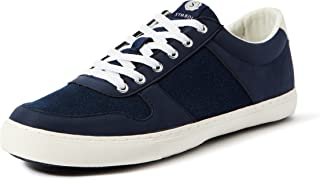 Amazon Brand - Symbol Men's Navy Sneakers-7 (AZ-YS-201 B)