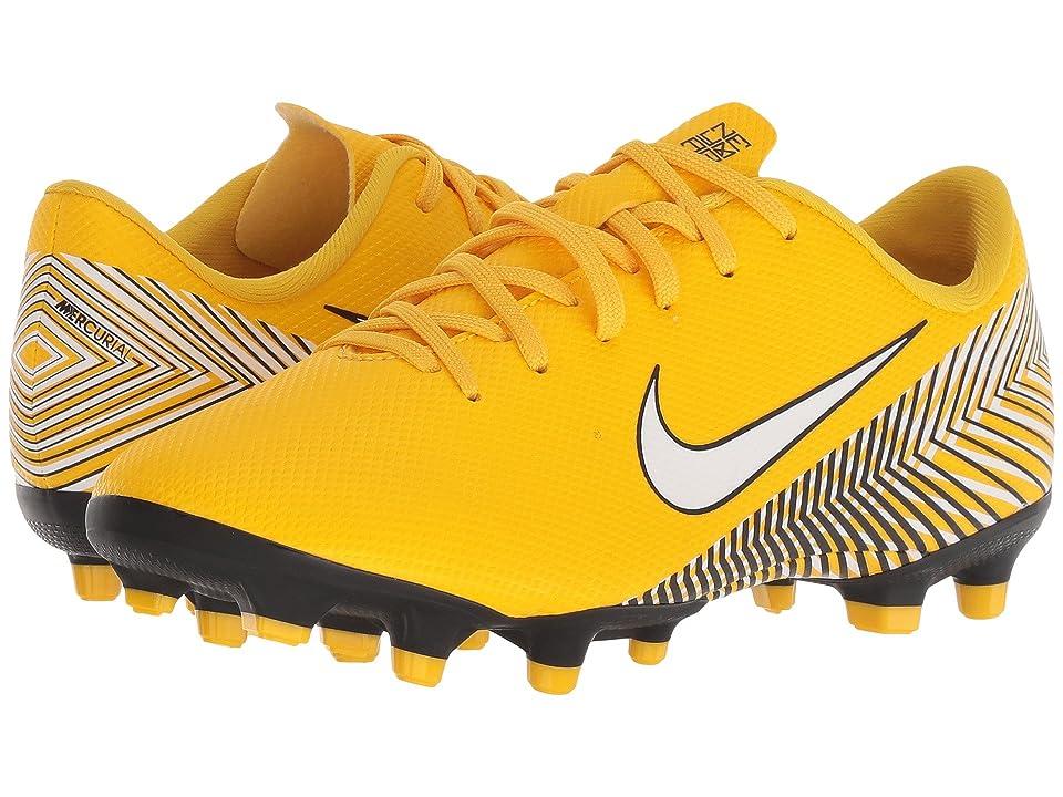 Nike Kids Neymar Jr. Vapor 12 Academy MG Soccer (Little Kid/Big Kid) (Amarillo/White/Dynamic Yellow/Black) Kids Shoes