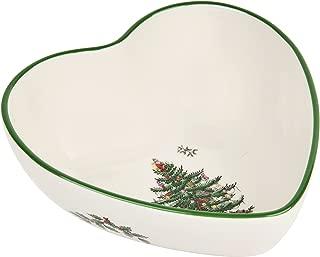 christmas tree shaped bowl