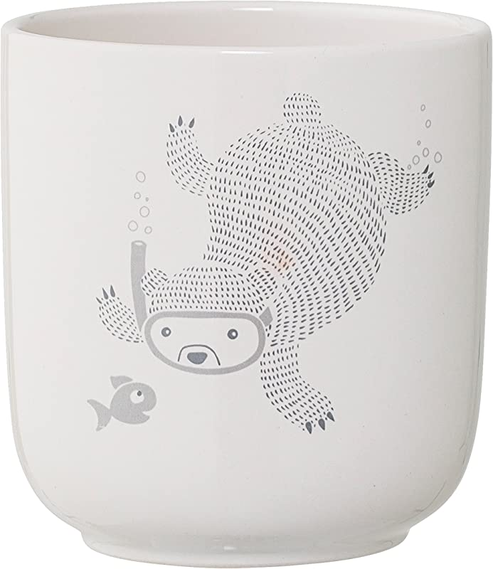 Bloomingville A75226836 Circus Flower Pot With Bear