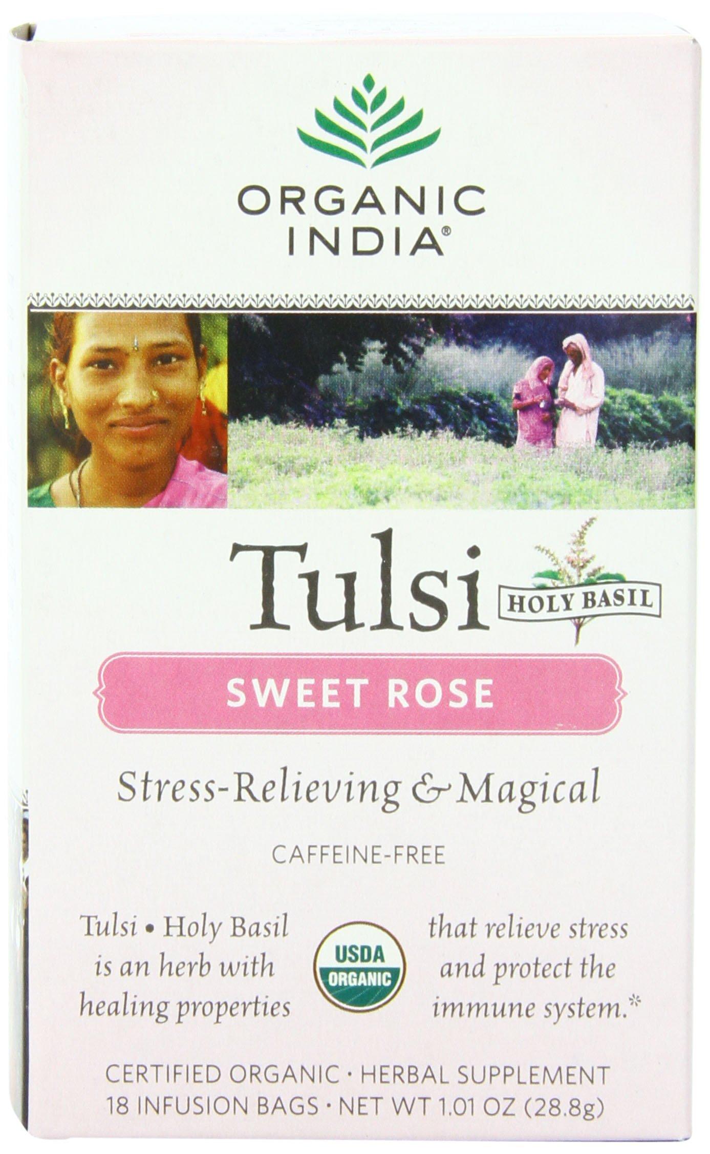 Organic India Tulsi Herbal Sweet