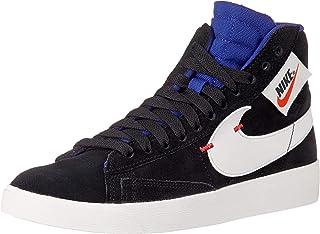 premium selection 3dace 074ed Nike Scarpe Sneaker da Donna Blazer Mid Rebel in camoscio Nero BQ4022-005