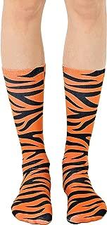 Living Royal - Tiger Print Crew Socks