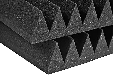 Studiofoam Wedge 1インチ (チャコールグレー) 吸収パネル20枚 24インチ x 48インチ x 1インチ