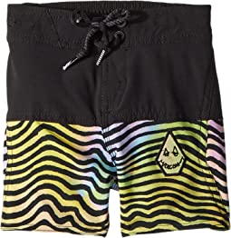 Volcom Kids - Vibes Elastic Boardshorts (Toddler/Little Kids)