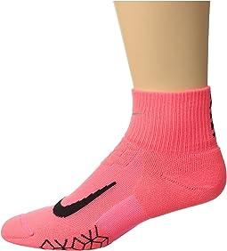Nike - Elite Cushion Quarter Running Socks