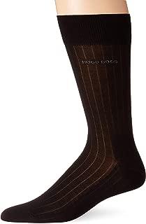 Men's Peter Mercerized Cotton Ribbed Dress Sock