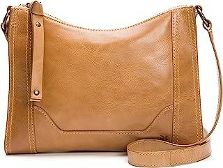 Melissa Zip Leather Crossbody