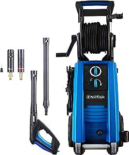 Nilfisk 128471198 E 160.1-10 PADH X- tra-tra Idropulitrice 160 Bar con Motore a induzione 230 V Include Patio Cleaner, Spazzola Rotante e scovolo Nero//Blue 2300 W