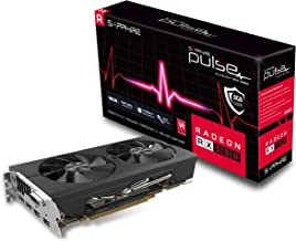 Sapphire Radeon 11265-05-20G Pulse RX 580 8GB GDDR5 Dual HDMI/ DVI-D/ Dual DP OC with Backplate (UEFI) PCI-E Graphics Card...